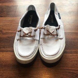 Sperry topside slip on sneaker.